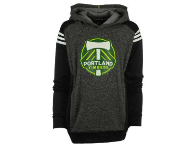 Portland Timbers MLS Youth 3 Stripe Shoulder Hoodie