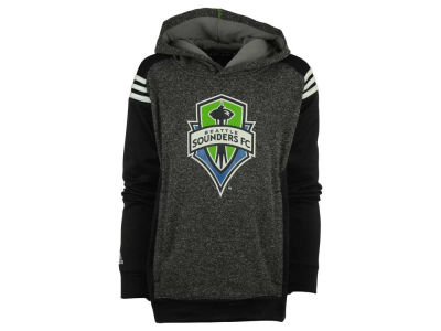 Seattle Sounders FC MLS Youth 3 Stripe Shoulder Hoodie