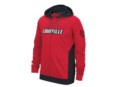 Louisville Cardinals adidas NCAA Men's Campus Premium Full Zip Hoodie