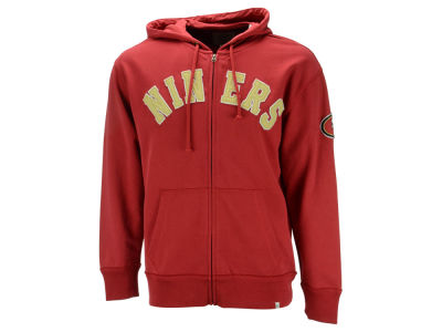 San Francisco 49ers '47 NFL Men's Striker Full Zip Hoodie