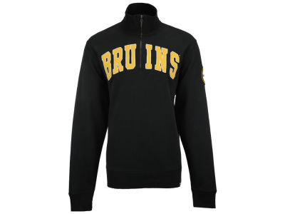 Boston Bruins NHL Men's Striker Quarter Zip Pullover