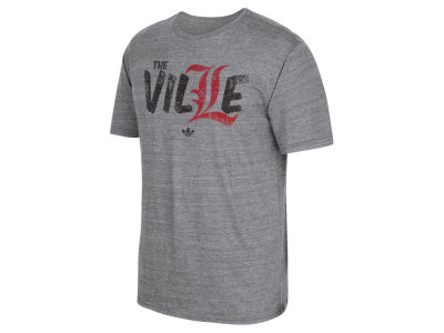Louisville Cardinals adidas NCAA Men's The Ville Triblend T-Shirt