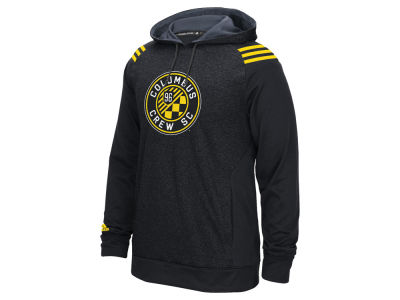 Columbus Crew SC adidas MLS Men's 3 Stripe Hoodie