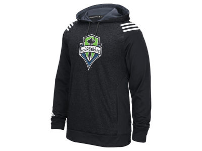 Seattle Sounders FC adidas MLS Men's 3 Stripe Hoodie