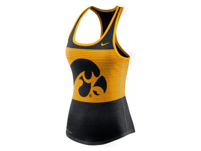Iowa Hawkeyes Nike NCAA Women's Dri-Blend Mesh Tank