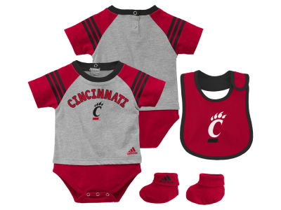Cincinnati Bearcats NCAA Newborn Little Kicker Set