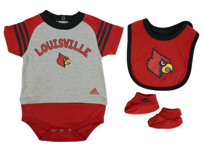Louisville Cardinals NCAA Newborn Little Kicker Set