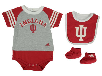 Indiana Hoosiers NCAA Newborn Little Kicker Set