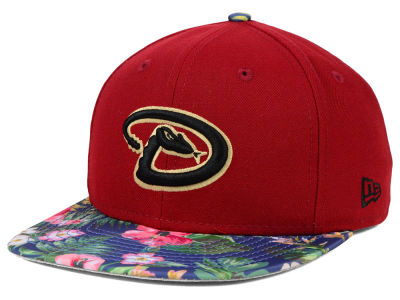 Arizona Diamondbacks New Era MLB Tropic Time 9FIFTY Snapback Cap