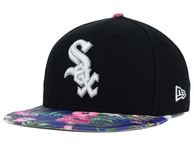 Chicago White Sox New Era MLB Tropic Time 9FIFTY Snapback Cap