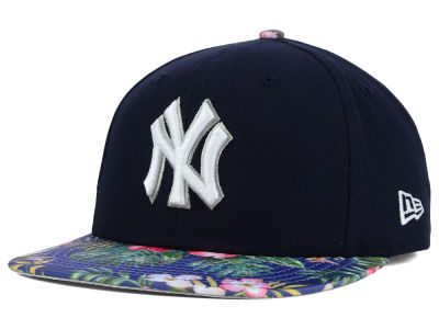 New York Yankees New Era MLB Tropic Time 9FIFTY Snapback Cap