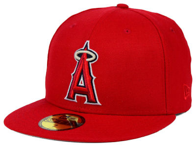Los Angeles Angels New Era MLB American Patch Redux 59FIFTY Cap