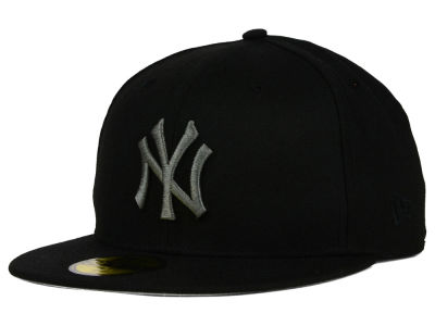 New York Yankees New Era MLB American Patch Black Redux 59FIFTY Cap