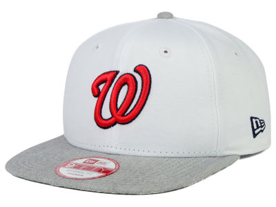 Washington Nationals New Era MLB Logo Refresh 9FIFTY Snapback Cap