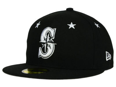 Seattle Mariners New Era MLB Star Gazer 59FIFTY Cap