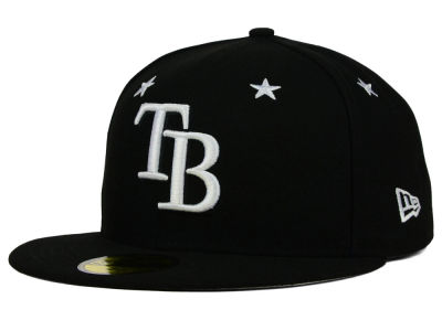 Tampa Bay Rays New Era MLB Star Gazer 59FIFTY Cap