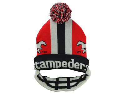 Calgary Stampeders Outerstuff NFL Youth Facemask Knit