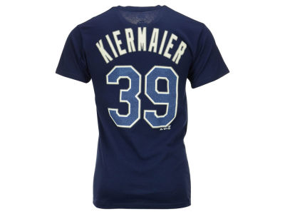 Tampa Bay Rays Kevin Kiermaier Majestic MLB Men's Official Player T-Shirt