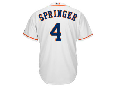 Houston Astros George Springer Majestic MLB Men's Player Replica CB Jersey