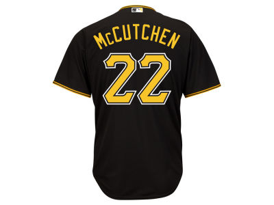 Pittsburgh Pirates Andrew McCutchen Majestic MLB Men's Player Replica CB Jersey