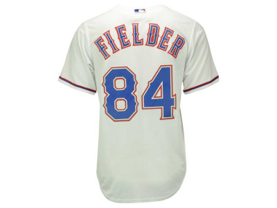 Texas Rangers Prince Fielder Majestic MLB Men's Player Replica CB Jersey