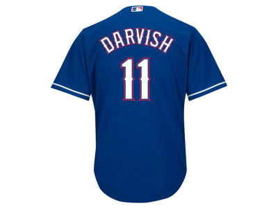 Texas Rangers Yu Darvish Majestic MLB Men's Player Replica CB Jersey
