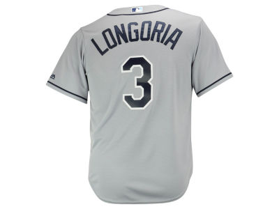 Tampa Bay Rays Evan Longoria Majestic MLB Men's Player Replica Cool Base Jersey