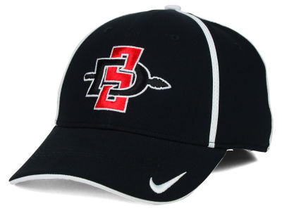 San Diego State Aztecs NCAA Pop Color Swoosh Flex Cap