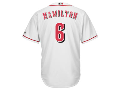 Cincinnati Reds Billy Hamilton Majestic MLB Men's Player Replica Cool Base Jersey