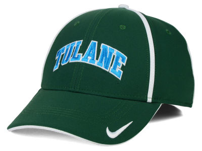 Tulane Green Wave NCAA Pop Color Swoosh Flex Cap