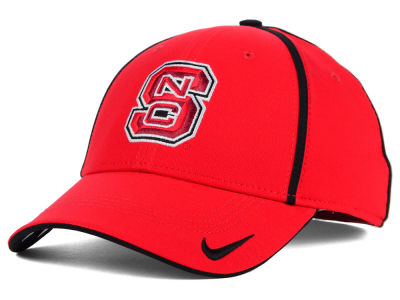 North Carolina State Wolfpack NCAA Pop Color Swoosh Flex Cap
