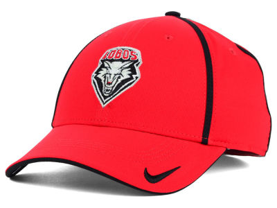 New Mexico Lobos NCAA Pop Color Swoosh Flex Cap