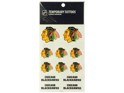 Chicago Blackhawks Tattoo Sheet