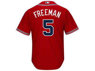Atlanta Braves Freddie Freeman Majestic MLB Men's Player Replica CB Jersey