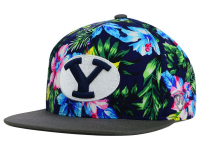 Brigham Young Cougars Top of the World NCAA Waverunner Snapback Hat