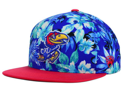 Kansas Jayhawks Top of the World NCAA Waverunner Snapback Hat