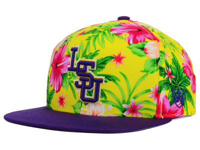 LSU Tigers Top of the World NCAA Waverunner Snapback Hat