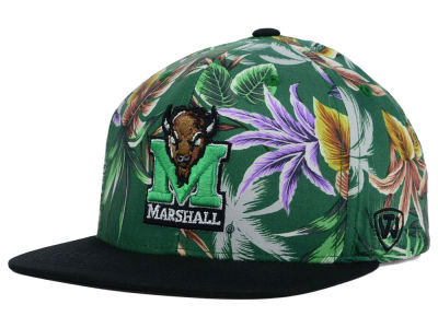 Marshall Thundering Herd Top of the World NCAA Waverunner Snapback Hat