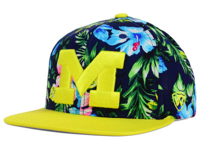 Michigan Wolverines Top of the World NCAA Waverunner Snapback Hat