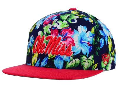 Ole Miss Rebels Top of the World NCAA Waverunner Snapback Hat
