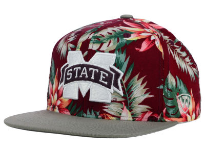 Mississippi State Bulldogs Top of the World NCAA Waverunner Snapback Hat