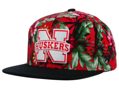 Nebraska Cornhuskers Top of the World NCAA Waverunner Snapback Hat