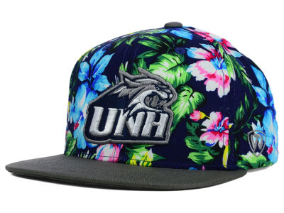 New Hampshire Wildcats Top of the World NCAA Waverunner Snapback Hat