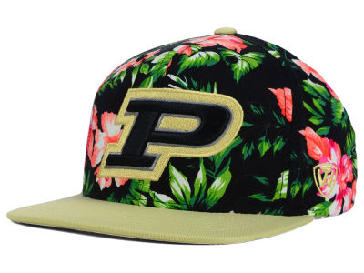 Purdue Boilermakers Top of the World NCAA Waverunner Snapback Hat