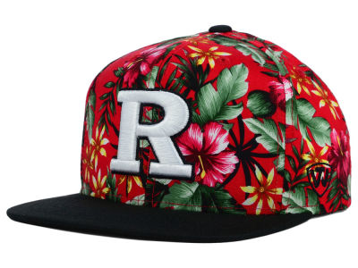 Rutgers Scarlet Knights Top of the World NCAA Waverunner Snapback Hat