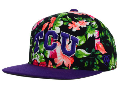 Texas Christian Horned Frogs Top of the World NCAA Waverunner Snapback Hat