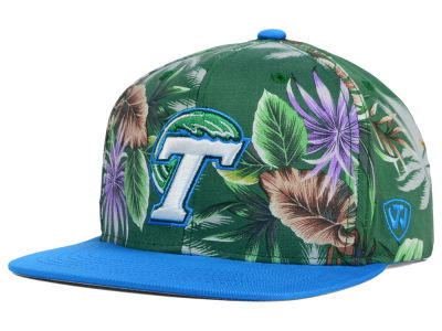Tulane Green Wave Top of the World NCAA Waverunner Snapback Hat
