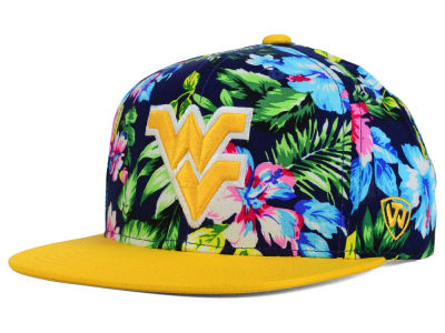 West Virginia Mountaineers Top of the World NCAA Waverunner Snapback Hat