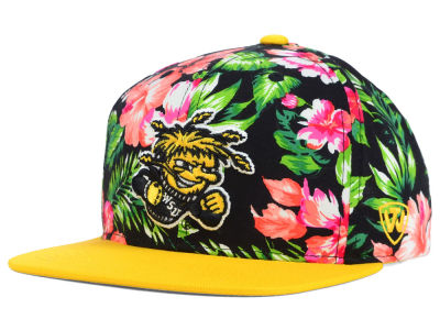 Wichita State Shockers Top of the World NCAA Waverunner Snapback Hat