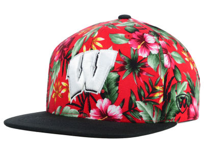 Wisconsin Badgers Top of the World NCAA Waverunner Snapback Hat